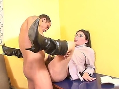 Dirty shemale Sayuri likes to have it deep in their way arse during amazing anal sessions