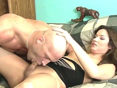 Perverted guy Christian A loves to have sex with shemales. From time to time he is pounding tight butthole be advantageous to Khloe Hart. Guy fucks the ass and sucks nice penis be advantageous to pretty tranny.