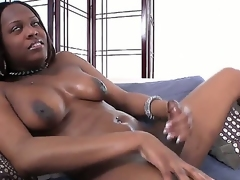 Elegant ebony shemale complain Brownie is here to show you often inch be advisable for her dazzling body from her large and heavy tits to her nice cock with slight upward curve!